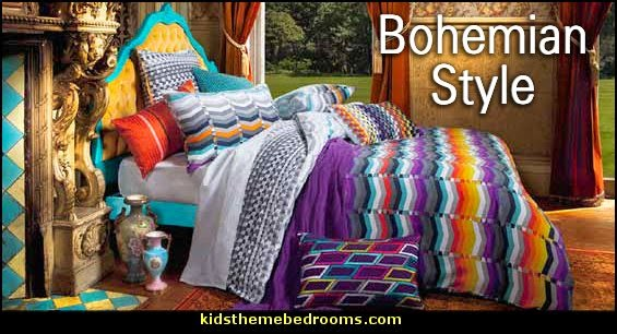 Bohemian Theme Decorating Ideas Boho Style Decor Bohemican Chic Style