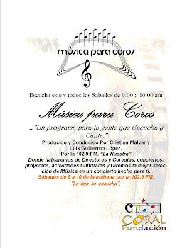 Musica para coros
