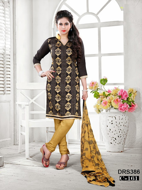 Latest Banarasi Jacquard Designer Dress Material
