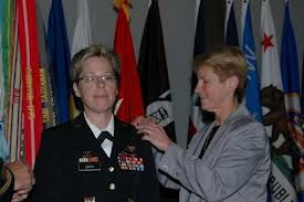 brigadier tammy smith's wife pins on her star