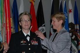 brigadier tammy smith's wife pins on her star