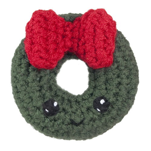 Free Crochet Pattern Christmas Wreath : Redirecting