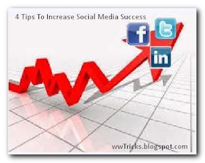 4 tips to increase social media success