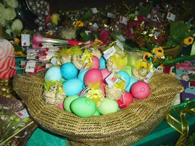 بيض والوان رومانسية لبيض شم النسيم
