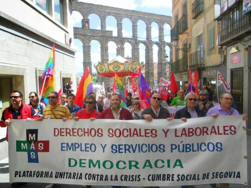 Foro social segovia segovia manifestaci nes 1 de mayo 2014 for Oficina de empleo de segovia