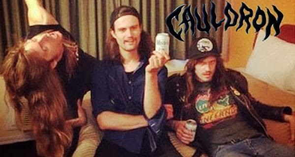 Entrevista exclusiva com a banda canadense Cauldron! Clique na imagem!