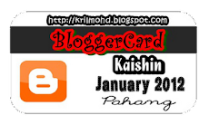 blogger card