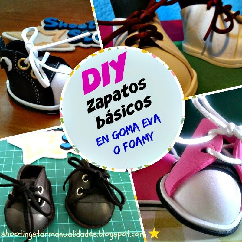 DIY zapatos goma eva