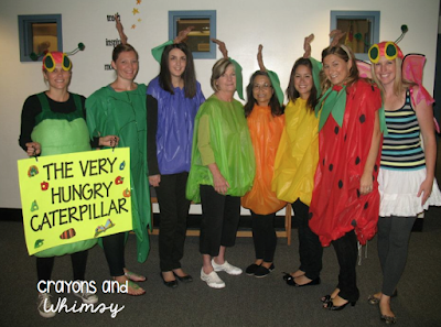 Hungry Caterpillar easy to make Halloween Costume Kindergarten Teacher