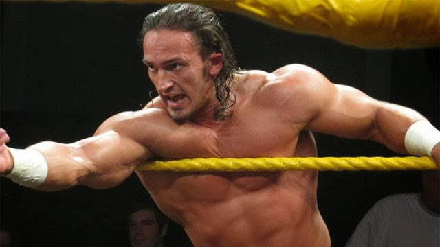 Adrian Neville NXT finisher shooting star press tag team Oliver Grey
