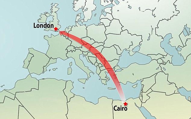Путешествие кота из Каира в Лондон