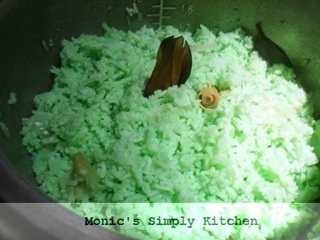cara membuat nasi lemak