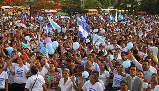 Crecimiento de evangélicos en Nicaragua