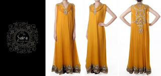 yellow Formal Wear Dresse 2013
