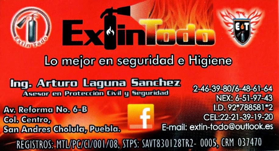Extinguidores de San Andrés Cholula