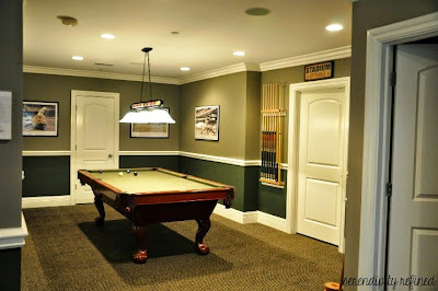 paint colors for concrete basement walls