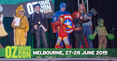 Oz Comic-Con children cosplayers