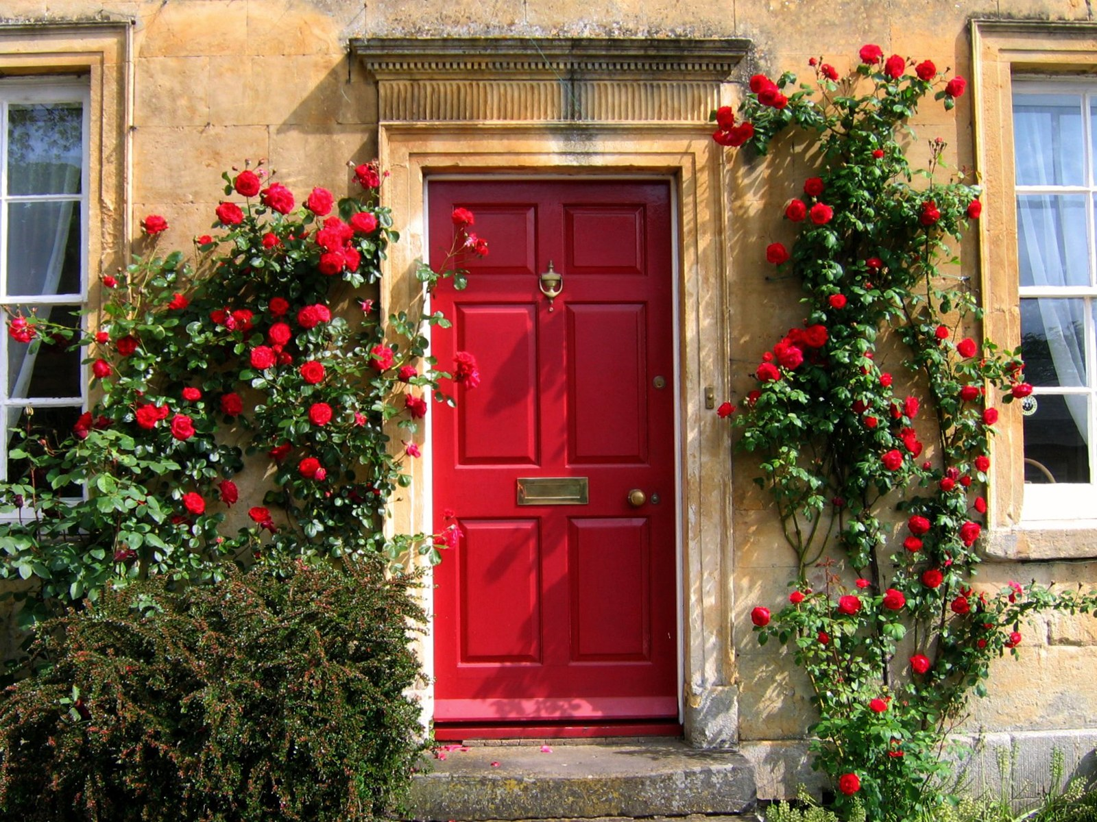 For instance if your stone tends towards the orange end of the spectrum then pick a red front door that also holds orange undertones. & Relics of Witney: The Best Front Door Colours To Paint Cotswold ...