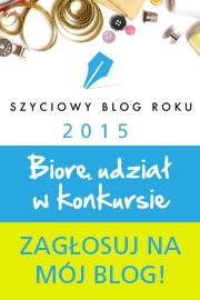Szyciowy blog roku 2015