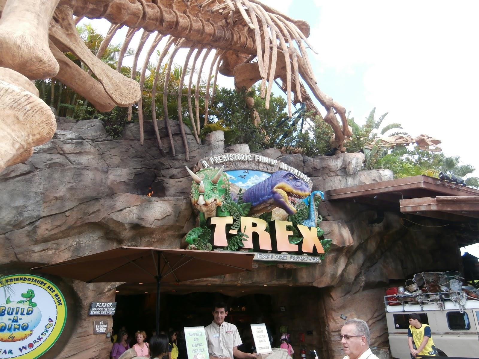 T rex restaurant coupons