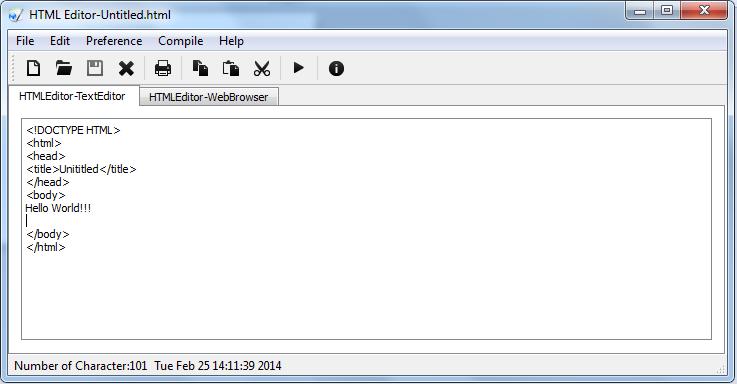 برنامج مجاني لتحرير ومعاينة أكواد HTML لإنشاء وتصميم صفحات الويب HTML Editor 5.3