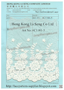 Net Embroidered Lace Manufacturer - Hong Kong Li Seng Co Ltd
