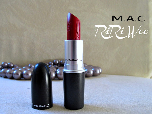 mac lipstick riri woo review photo swatches