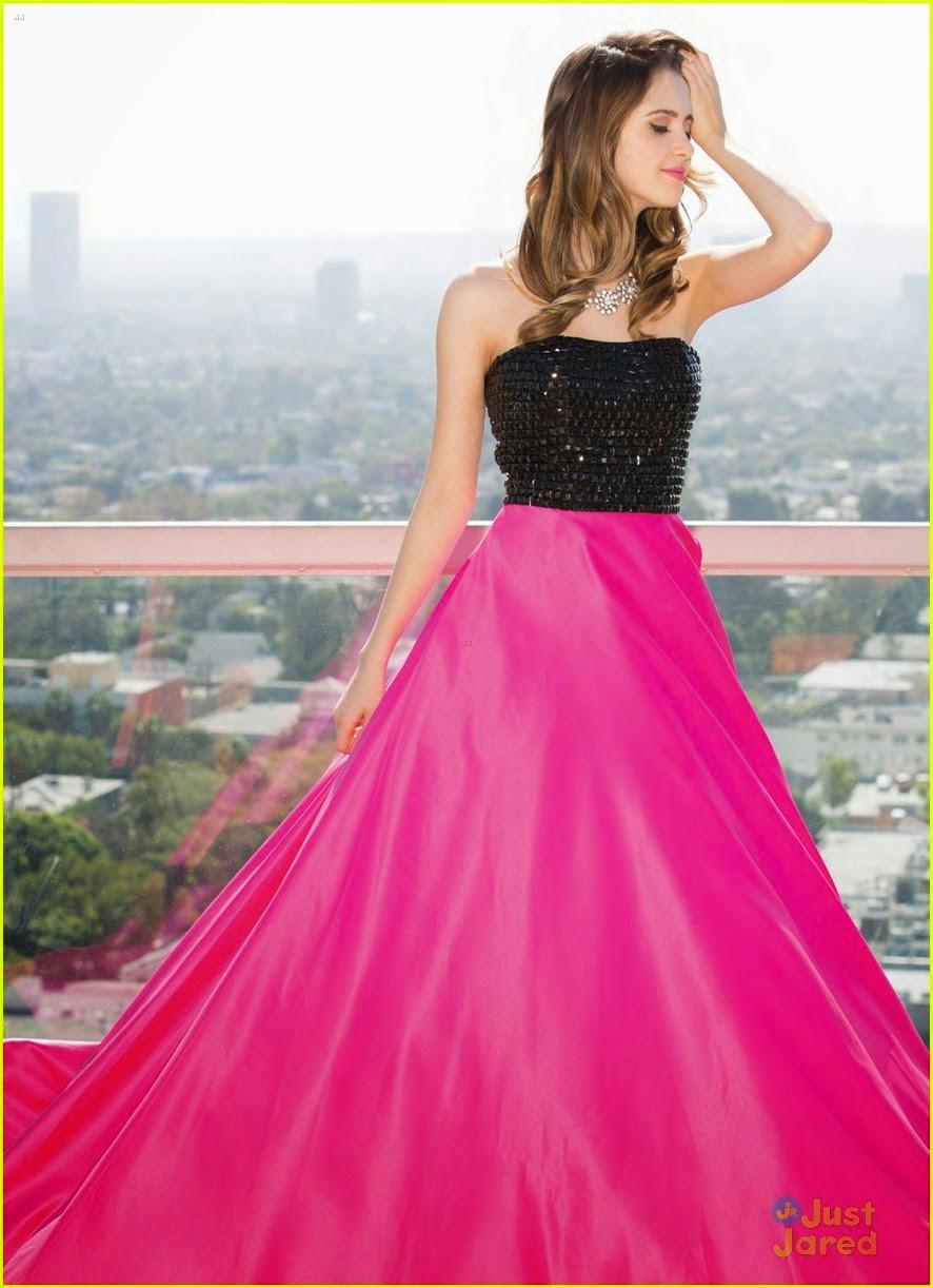 Mis Idolos Stars::::::::::: Laura Marano modela vestidos de ...