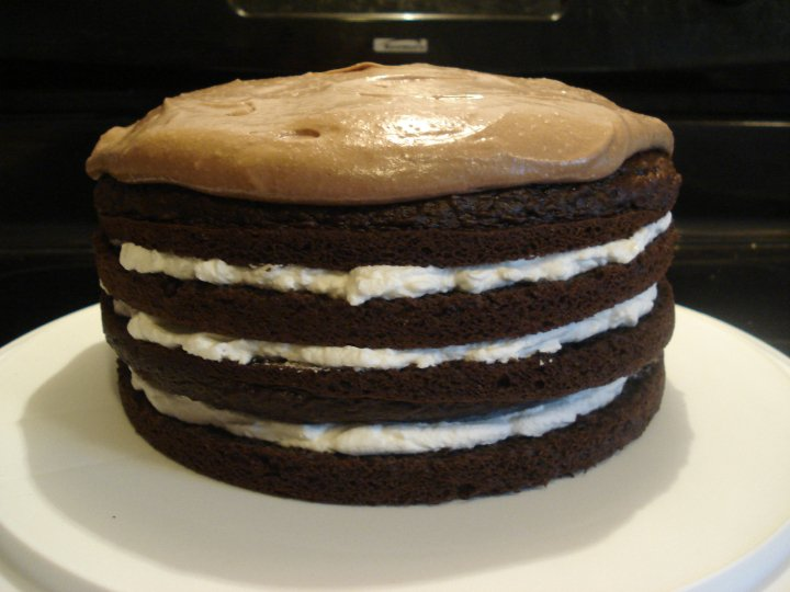 How To Torte A Cake With Dental Floss