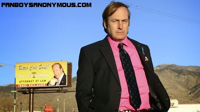 Breaking Bad Saul Goodman heading Vince Gilligan spin-off series Better Call Saul