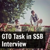 GTO Task in SSB Interview