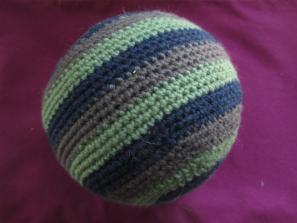 HOW TO CROCHET A BALL Crochet For Beginners