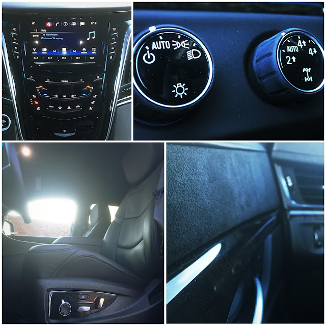 2016 Cadillac Escalade Platinum interior collage