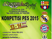 PES 2015 Tournament di Magelang Juni 2015