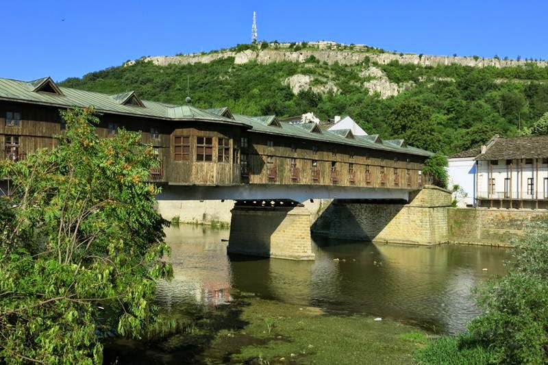 Lovech - Covered Bridge over Osam River