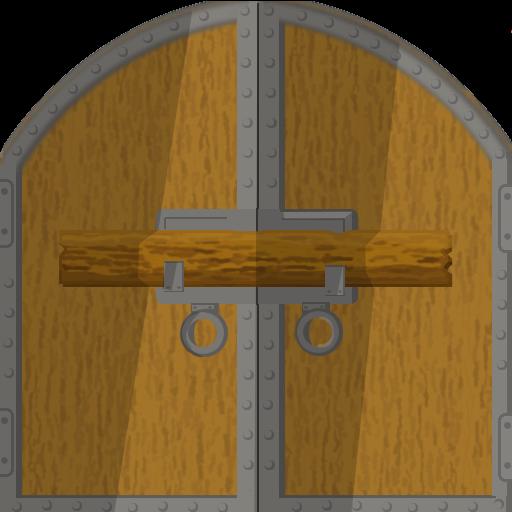 door game green glass door game riddle. Black Bedroom Furniture Sets. Home Design Ideas