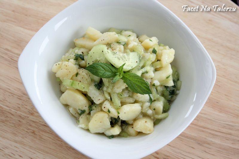 Salatka Ziemniaczana Z Ogorkiem Kartoffel Gurken Salat Facet Na