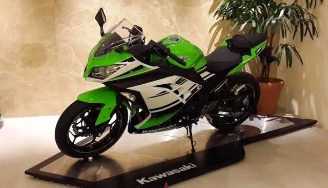 Harga Kawasaki Ninja 300 SE - OtoGrezz