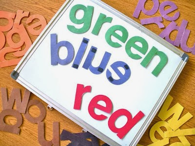 fun ideas for teaching color words in kindergarten