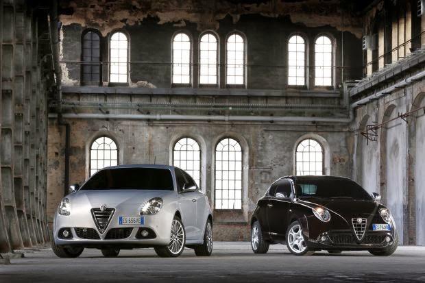 Alfa Romeo Giulietta versus MiTo