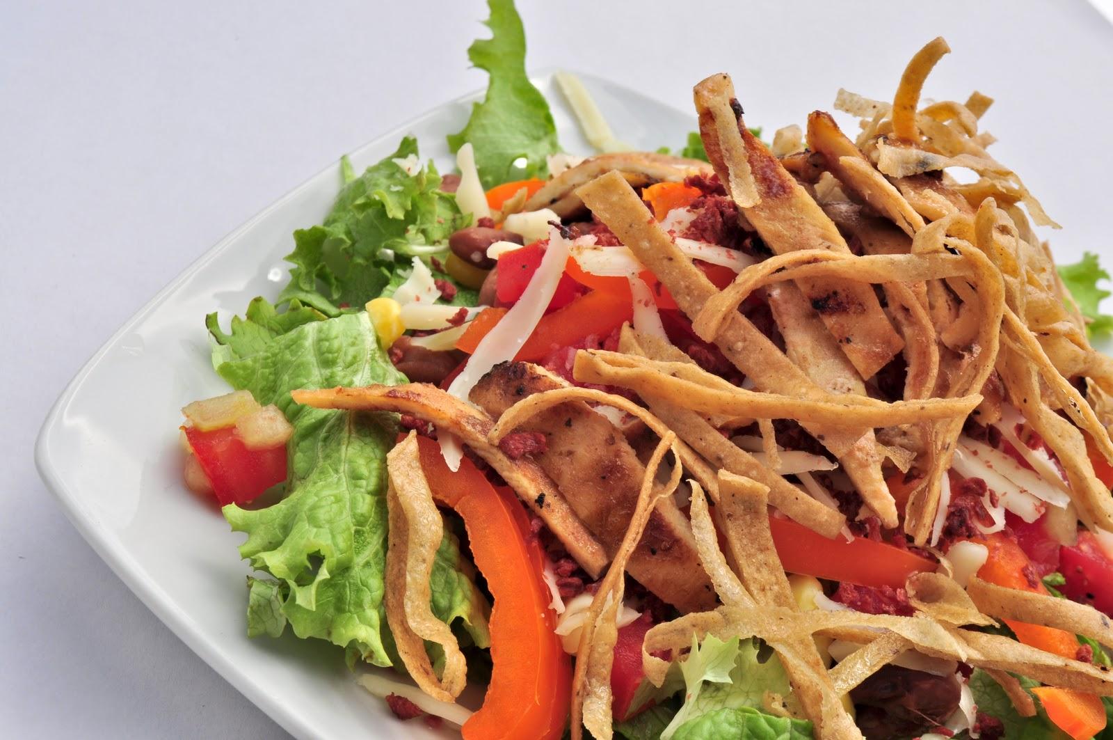 La casa de las ensaladas del menu ensaladas pollo for La casa del barbecue