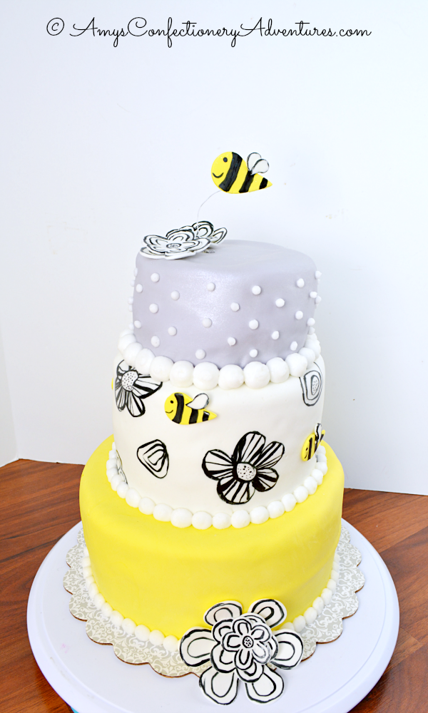 Amys Confectionery Adventures Bumble Bee Cake