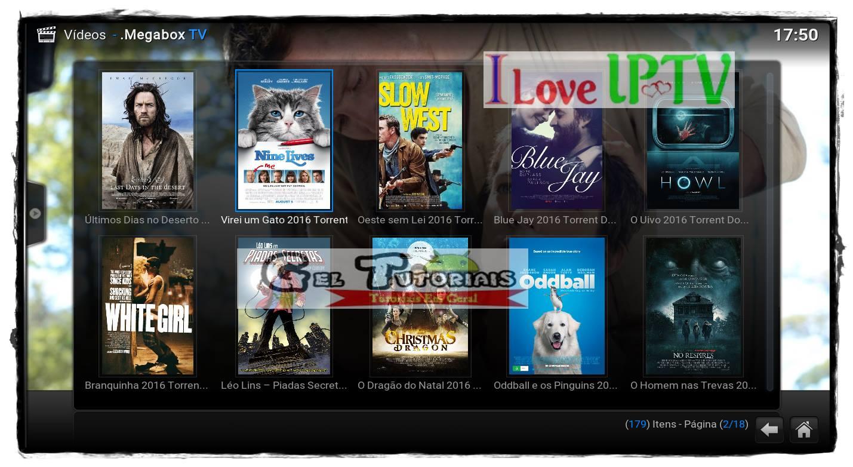 Addon MEGABOX TV Para KODI: Filmes, Series, UFC, Desenhos ...