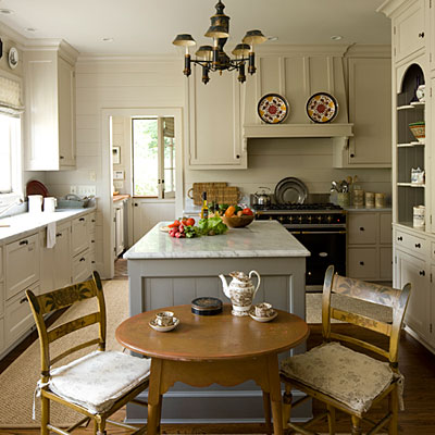Mix and chic home tour a cape cod style cottage in atlanta Cape cod style kitchen design