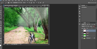 Editing photoshop Memanipulasi cara membuat ROL (Ray Of Light)