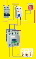 esquema de fotocontrol 3contactos