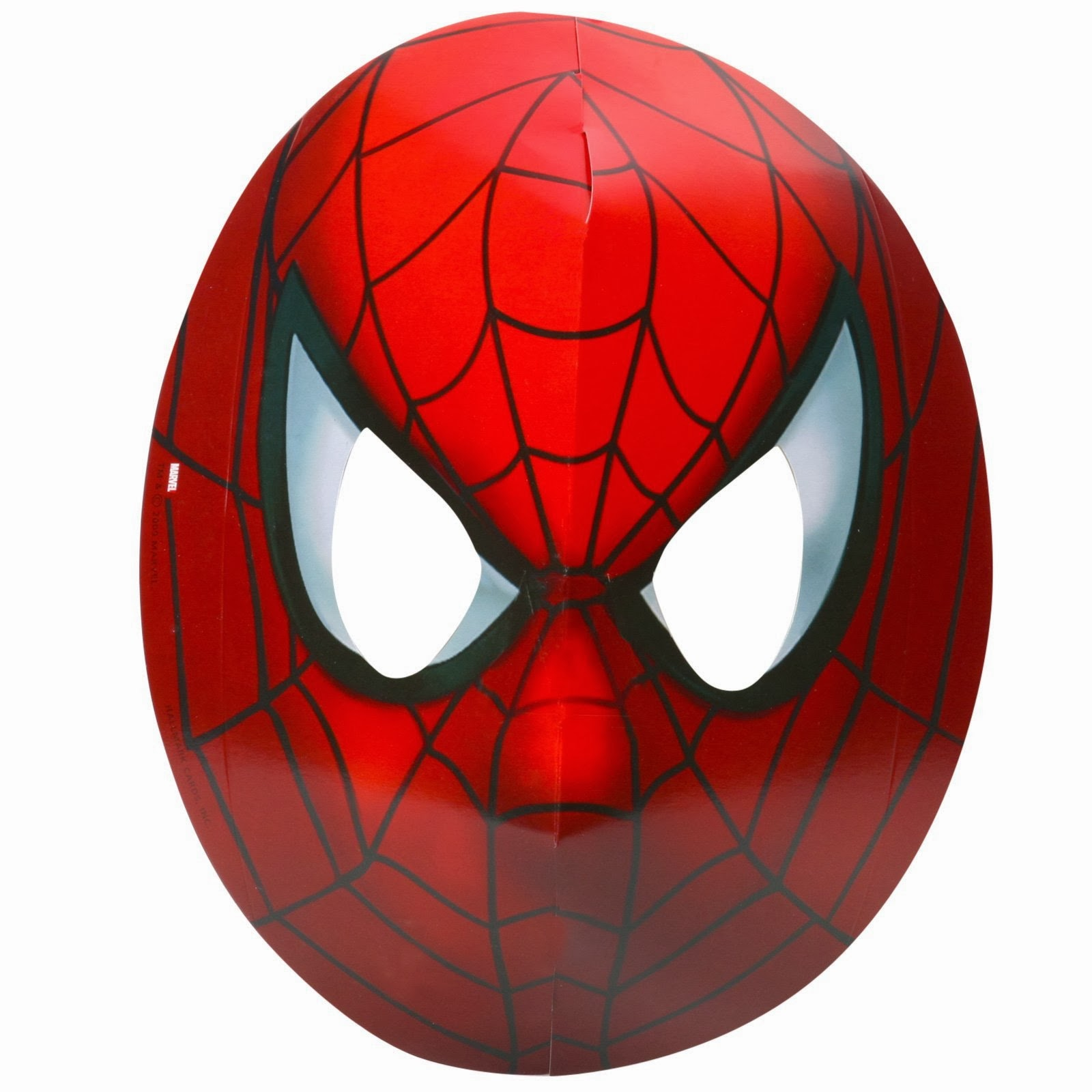 It's just an image of Clever Spiderman Mask Printable