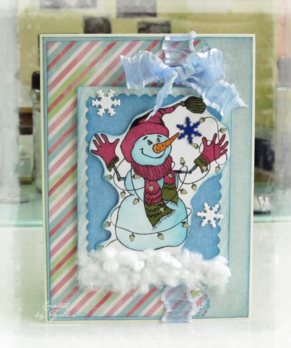 Конкурс на новогоднюю открытку