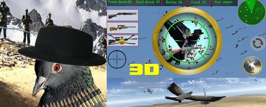 Spy Pigeon Bird Shooting Game Latest APK for android