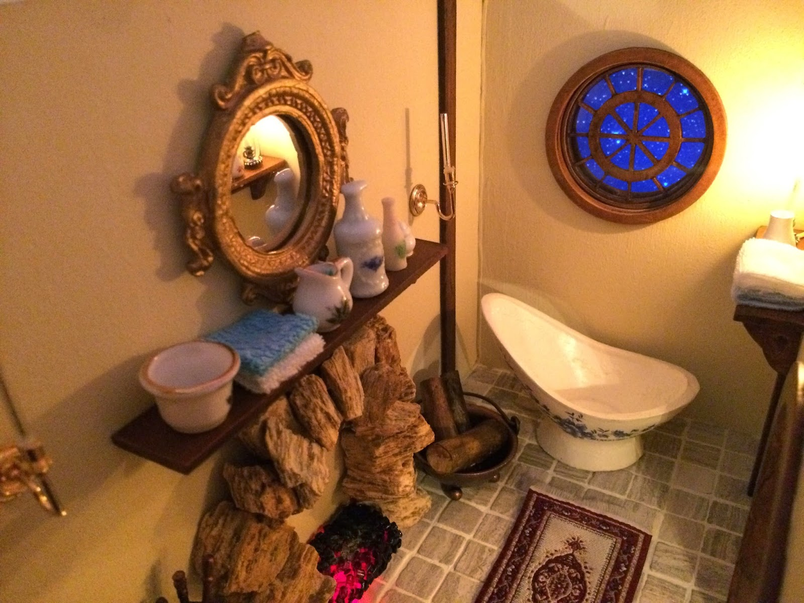 My Hobbit Hole Bag End Bathroom